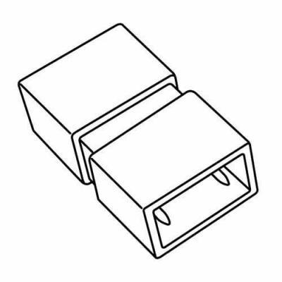 Соединение прямое для светодиодной ленты (UL-00002929) Uniel UTC-K-12/N21 Clear 025 Polybag адаптер для светодиодной ленты ul 00002937 uniel ucx sp2 n21 white 1 sticker