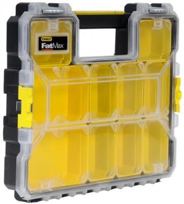 Органайзер STANLEY FatMax Shallow Pro Metal Latch 1-97-517 профессиональный 44.6x7.4x35.7см органайзер профессиональный stanley fatmax shallow pro plastic latch 1 97 519