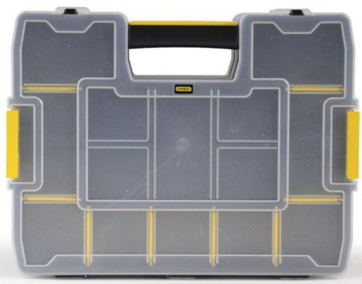 Органайзер STANLEY Sort Master Junior 1-97-483 пластмассовый 375х292х67мм органайзер stanley 30 отделений пластмассовый 1 93 980