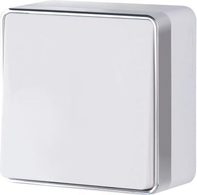 Выключатель одноклавишный Gallant белый WL15-01-01 4690389102035