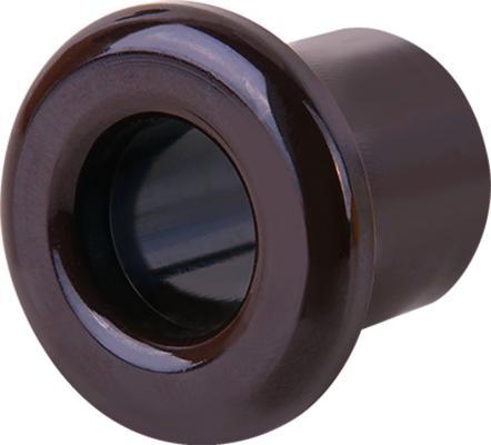 Втулка для вывода кабеля из стены Retro коричневая WL18-18-01 4690389100697