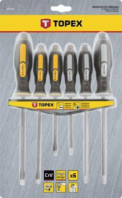 Набор отверток TOPEX 39D506 ударные 6шт.