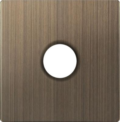 Купить Накладка для TV розетки бронзовая WL12-TV-CP 4690389100574, Werkel, бронза