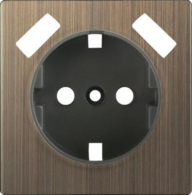 Накладка для USB розетки бронзовая WL12-USB-CP 4690389100505