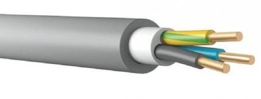 Кабель силовой NUM Калужский кабельный завод 3x2.5 мм круглый 100м серый ГОСТ
