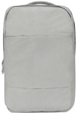 Рюкзак для ноутбука 15 Incase Diamond Ripstop полиэстер серый INCO100315-CGY сумка для ноутбука 13 incase city brief with diamond ripstop полиэстер черный inco300363 blk