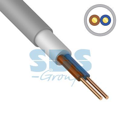 Кабель NUM-O (NYM) 2x1,5 мм?, 100 м., ГОСТ кабель nym 2х2 5 мм гост 100 м