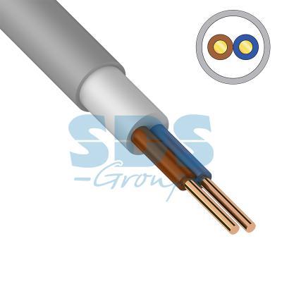 Кабель NUM-O (NYM) 2x2,5 мм?, 100 м., ГОСТ кабель nym 2х2 5 мм гост 100 м
