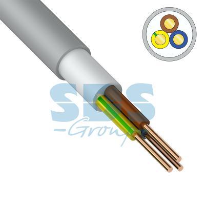 Кабель NUM-J (NYM) 3x1,5 мм?, 100 м., ГОСТ кабель nym 2х2 5 мм гост 100 м