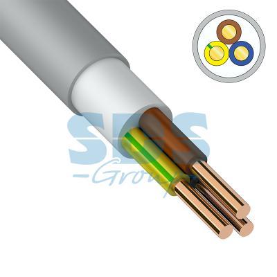 Кабель NUM-J (NYM) 3x6 мм?, 100 м., ГОСТ кабель nym 2х2 5 мм гост 100 м