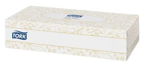 Салфетки Tork 120380 для лица 100 шт tork салфетки для лица ультрамягкие 2сл 100л коробка 20 шт
