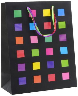 Купить Пакет подарочный крафт, 260*324*127 мм, с лазерной вырубкой, Winter Wings, Подарочные пакеты