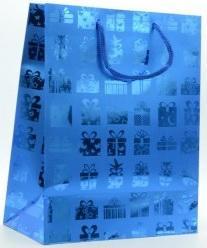 Купить Пакет подарочный ламинированный, 260*324*127 мм, с тиснением., Winter Wings, Подарочные пакеты