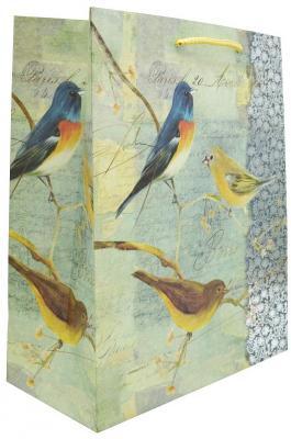 Купить Пакет подарочный бумажный крафт, 260*324*127 мм, с тиснением, 2 вида, Winter Wings, Подарочные пакеты