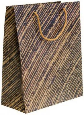 Пакет подарочный крафт, 260*324*127 мм, 2 вида пакет подарочный бумажный крафт 260 324 127 мм с тиснением 2 вида