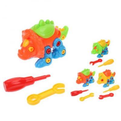 Конструктор-скрутка Наша Игрушка Динозавр 200226342 игрушка