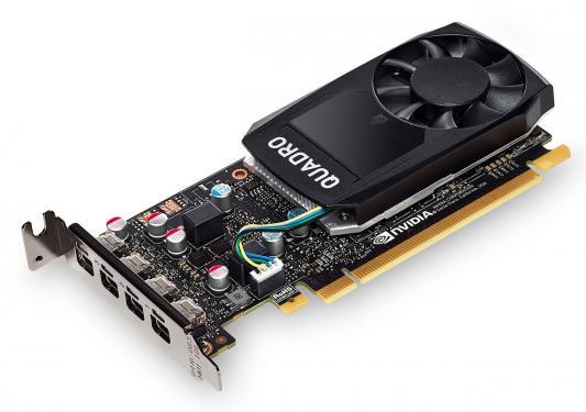 Видеокарта 2048Mb PNY Quadro P600 PCI-E 128bit GDDR5 miniDP VCQP600DVIBLK-1 OEM б/у видеокарта pny quadro p400 vcqp400blk 1 pci e 2048mb gddr5 64 bit oem