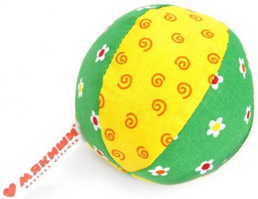 Игрушка мяч с погремушкой Малыш в асс-те мякиши пирамидка с погремушкой котик мякиши