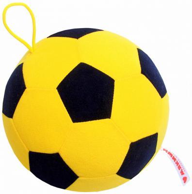 Мякиши Футбольный мяч желт-черн