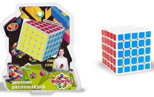 Купить Головоломка Куб, 25 клеток/стор., 6, 2*6, 2 см, 2*блистер, Наша Игрушка, Головоломки для детей
