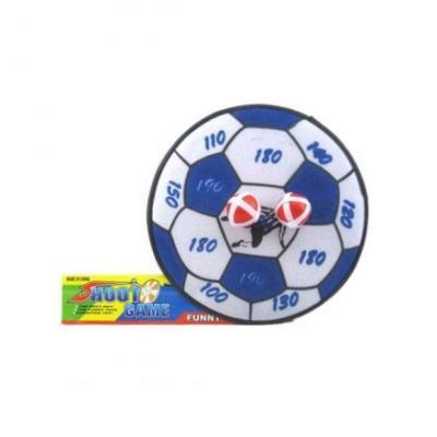Купить Дартс детский Футбольный мяч, шарики на липучке 2 шт., Наша Игрушка, 28 X 4 X 28 см, Спортивные детские игры