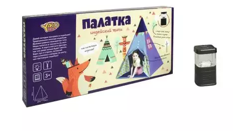 Палатка игровая Наша Игрушка Индейский типи игровая палатка монстры 112x112x84см