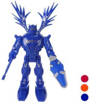 Фото - Интерактивный робот Наша Игрушка Робот светящийся 101019016 интерактивный робот наша игрушка танцующий 23 см со звуком светящийся 0522a