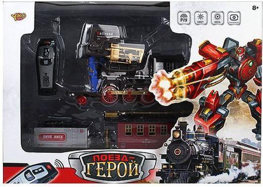 Фигурка-трансформер Наша Игрушка Поезд-герой M6546 игрушка