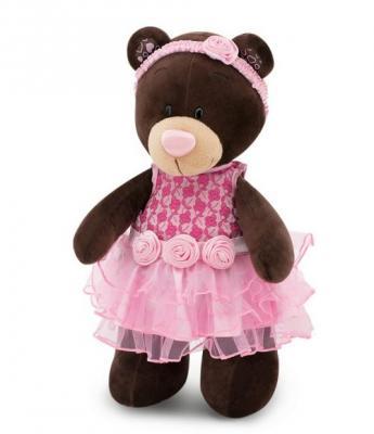 Медведь Розовый букет Choco&Milk 30