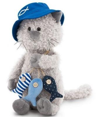 Мягкая игрушка кот ORANGE Кот Обормот Рыбак искусственный мех текстиль 30 см мягкая игрушка кот orange кот обормот рыбак 20 см искусственный мех текстиль