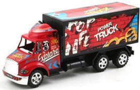 Грузовик Power Truck красный 18 см В30665 ultra loud bicycle air horn truck siren sound 120db