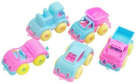 Автомобиль Пластмастер Малютка зефирки цвет в ассортименте 31172 пластмастер набор машинок малютка 3 шт