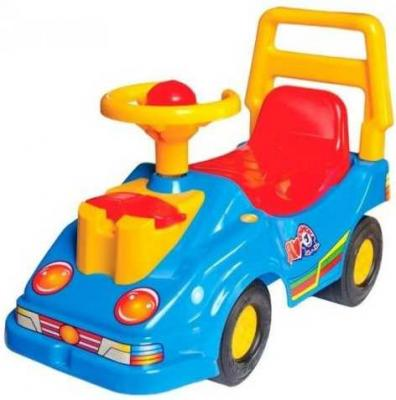 цена на Каталка Технок Машина-каталка с телефоном разноцветный Т2490Син
