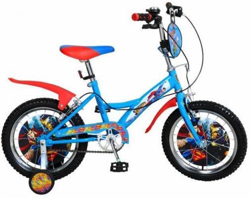 Велосипед Navigator Супермен 16 голубой велосипед двухколесный navigator супермен 12 голубой