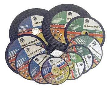 Круг отрезной ЛУГА-АБРАЗИВ 125 Х 1,6 Х 22 А40 для цвет.мет круг отрезной луга абразив 200x22 упак 25 шт