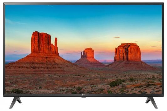Телевизор LG 49UK6300PLB черный