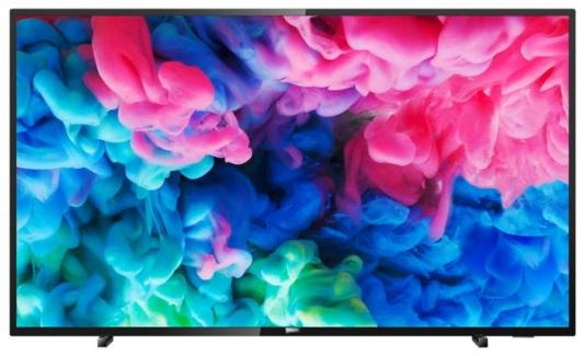 Телевизор LED Philips 55 55PUS6503/60 черный/Ultra HD/900Hz/DVB-T/DVB-T2/DVB-C/USB/WiFi/Smart TV (RUS) телевизор philips 55put6101 60 черный