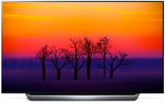 Телевизор LG OLED65C8PLA серебристый серый телевизор lg 55uk7500plc серебристый