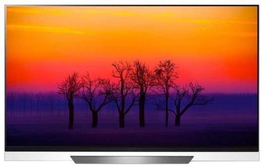Телевизор LG OLED65E8PLA черный белый цены
