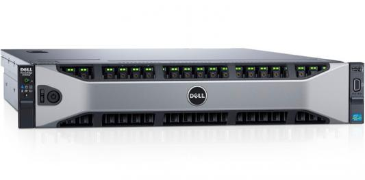 Сервер Dell PowerEdge R730XD 2xE5-2609v4 16x16Gb 2RRD x26 2.5 H730p iD8En 57800 2x1100W 3Y PNBD TPM (210-ADBC-276)