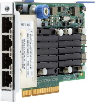 Адаптер HPE 764302-B21 FlexFabric 10Gb 4-port 536FLR-T