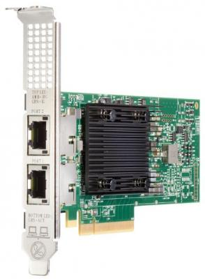 Адаптер HPE 813661-B21 Ethernet 10Gb 2P 535T адаптер hpe ethernet 1gb 2p 332t 615732 b21