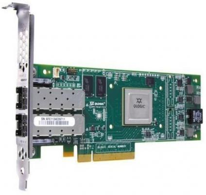 Адаптер Dell QLogic 2662 Dual Port 16GB Fibre Channel HBA Full Height Kit (406-10741-1)