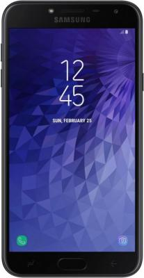 Смартфон Samsung Galaxy J4 2018 32 Гб черный SM-J400FZKHSER цена и фото