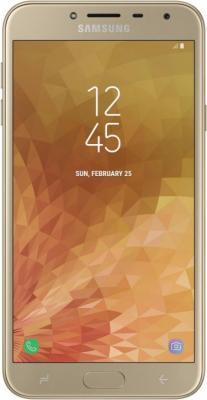 Смартфон Samsung Galaxy J4 2018 32 Гб золотистый SM-J400FZDHSER цена и фото