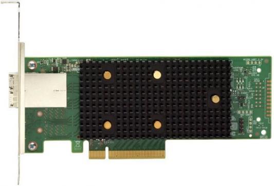 Адаптер Lenovo 7Y37A01090 ThinkSystem 430-8e SAS/SATA 12Gb HBA lsi sas 9300 8e lsi00343 pci express 3 0 sata sas 8 port sas3 12gb s hba single new retail 3 year warranty