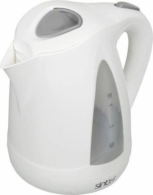 Чайник Sinbo SK 7324, 2000Вт, 1.7л, пластик, белый