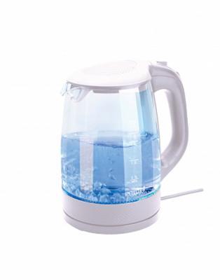 Чайник Smile WK 5414 2200 Вт белый 2 л пластик/стекло чайник smile wk5306 2000 вт 1 7 л пластик белый
