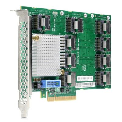 Контроллер HPE DL38X Gen10 12Gb SAS Expander Card Kit with Cables (870549-B21) карта расширения hpe 826686 b21 dl38x gen10 4lff midplane sas sata hdd kit