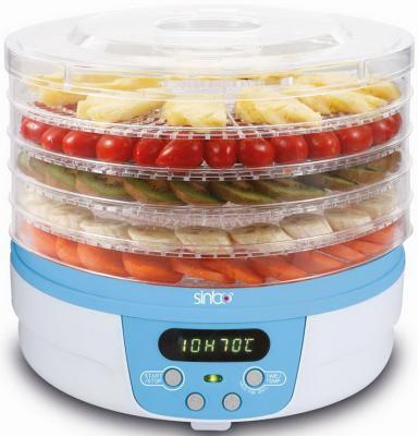 Сушка для овощей и фруктов Sinbo SFD 7403 250Вт синий